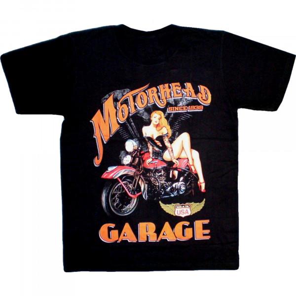 T-Shirt Erwachsene - Motorhead garage