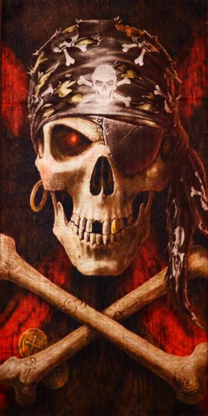 PiWear® Schlauchschal Pirate-Skull