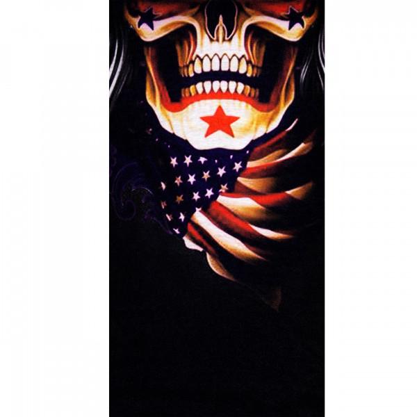 PiWear® Schlauchschal US Skull