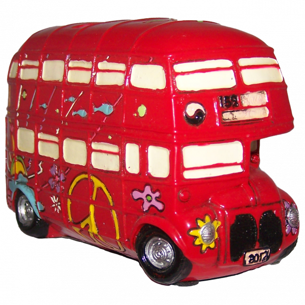 PiWear® Spardose London Bus