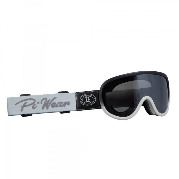 PiWear® Arizona Rahmen schwarz grau Band grau FM