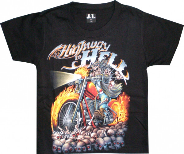 T-Shirt Kids - Highway to hell