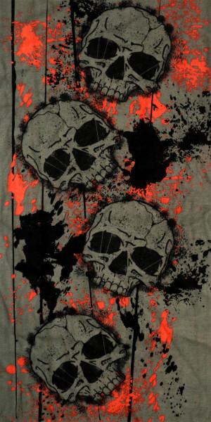 PiWear® Schlauchschal Bloody Skulls