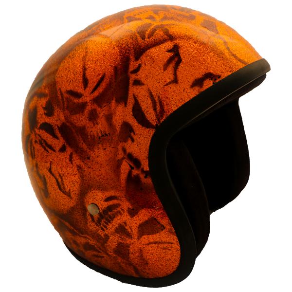 PiWear® Jet Evo Skull orange