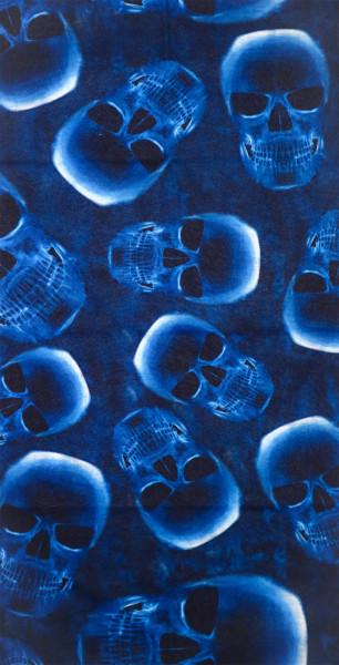 PiWear® Schlauchschal Skull Blue