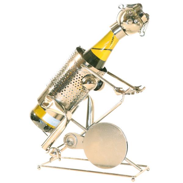 PiWear Weinhalter Metall Radfahrer